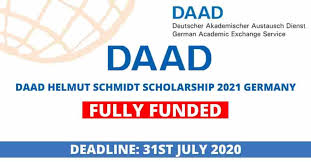 DAAD Helmut-Schmidt-Programme: Master's Scholarships for Public Policy and Good Governance – PPGG