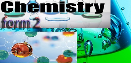 CHEMISTRY NOTES FOR FORM TWO ALL TOPICS