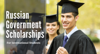 Russia Government Scholarships 2021 for international Students