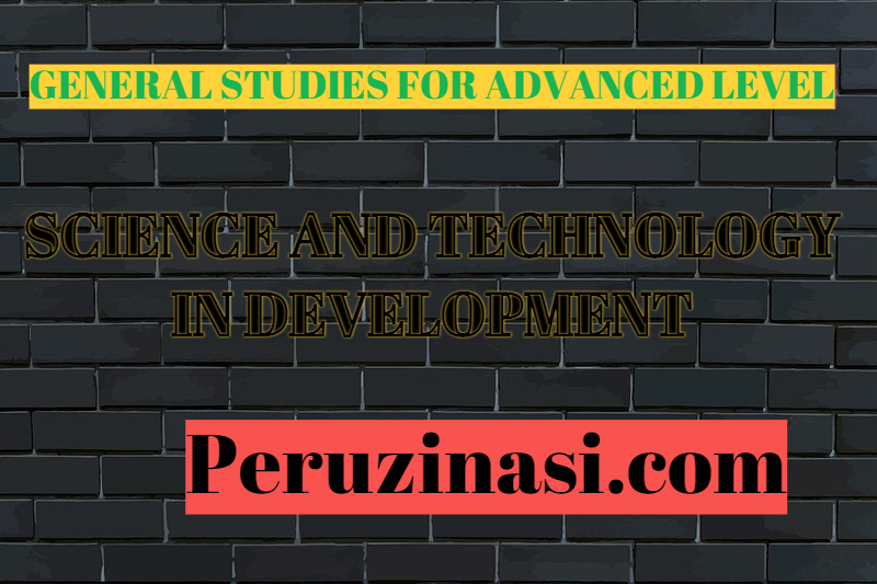 General Studies (GS) – SCIENCE AND TECHNOLOGY IN DEVELOPMENT
