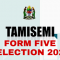 Form Five Second Selection 2021/2022 All Names Here